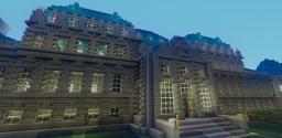 Belvedere in Vienna Minecraft Project