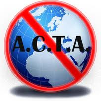 STOP ACTA! Minecraft Blog