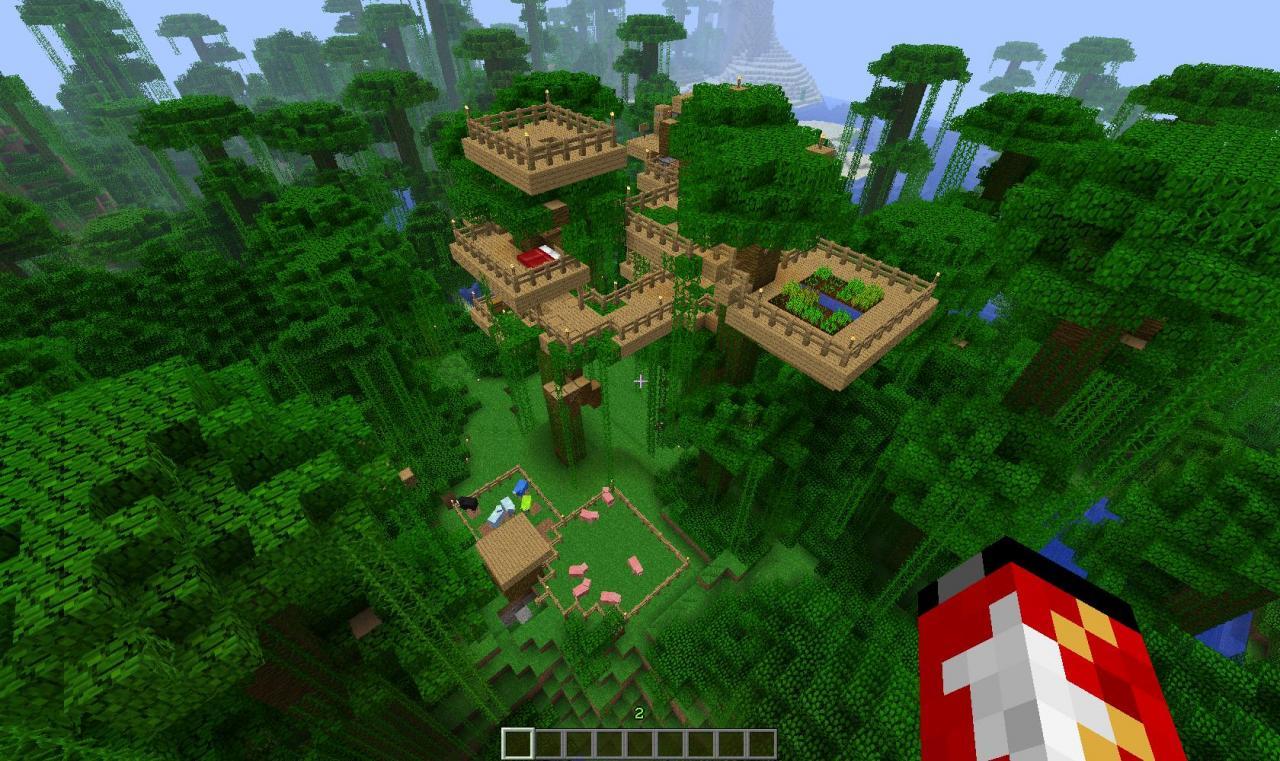как найти джунгли в майнкрафт 1.8.8 #7