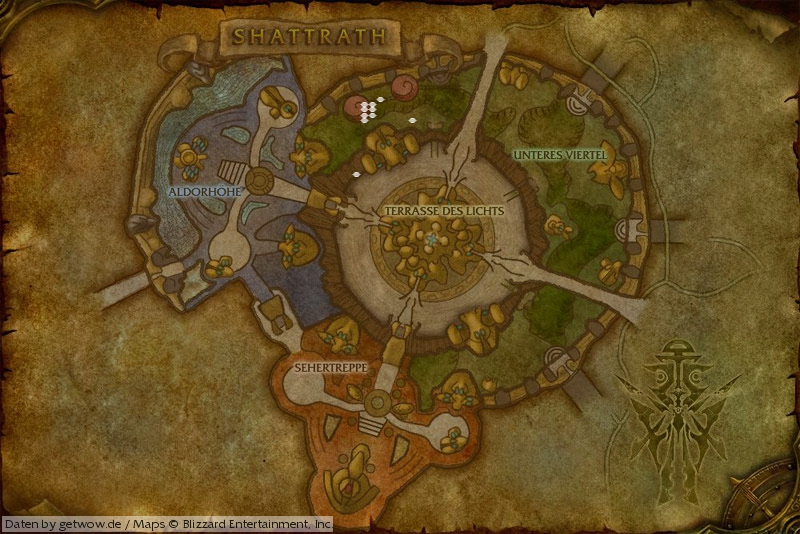 how to get to shattrath wow