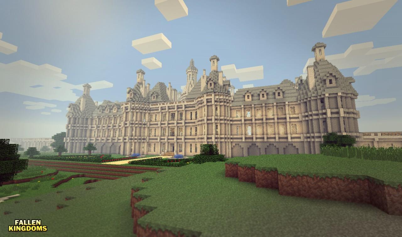 Map fallen kingdoms season 2 castle chambord minecraft - Chateau de minecraft ...