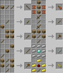 mo' weapons ver 1.1 mc 1.1 [Modloader] 4000+ downloads OMG Minecraft Mod