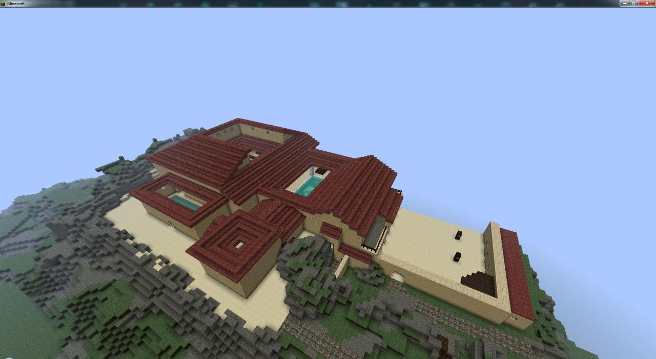house of batiatus roman styled villa from spartacus