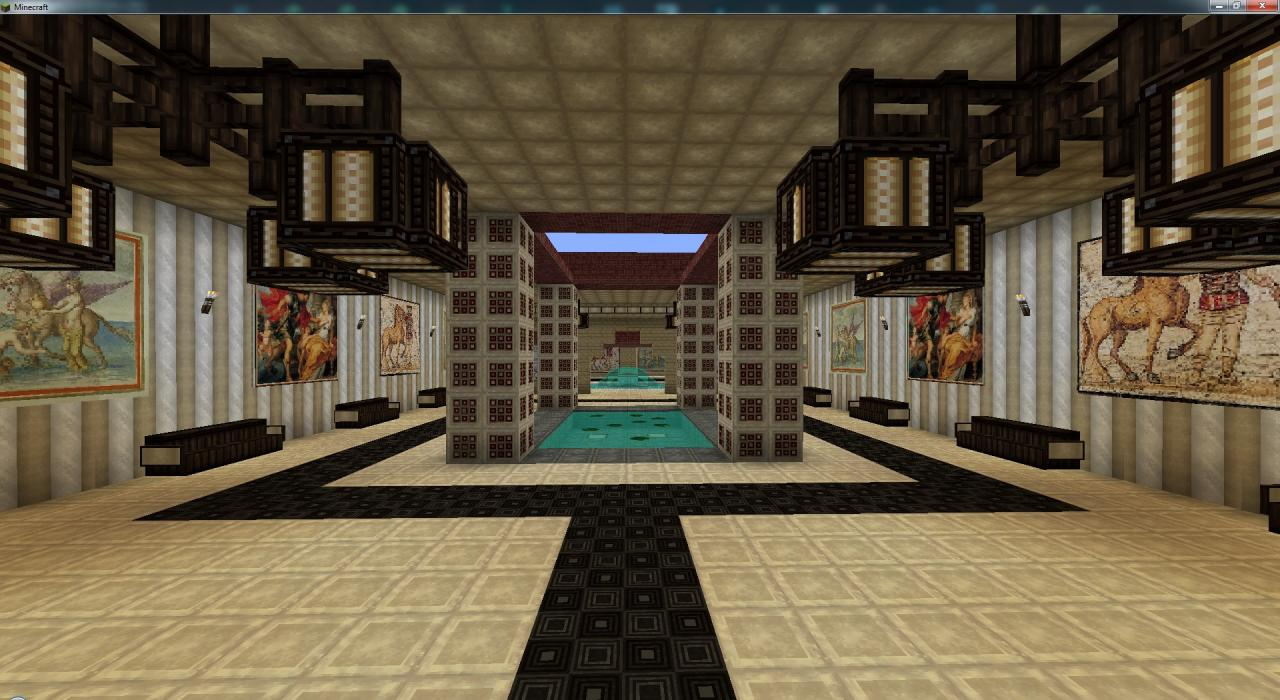 House of Batiatus - Roman styled villa from Spartacus: Blood & Sand ...