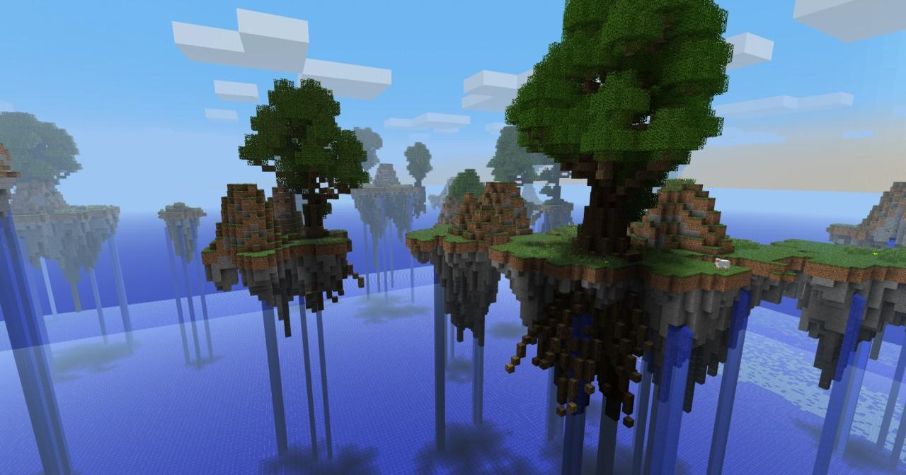 Epic floating landscape!