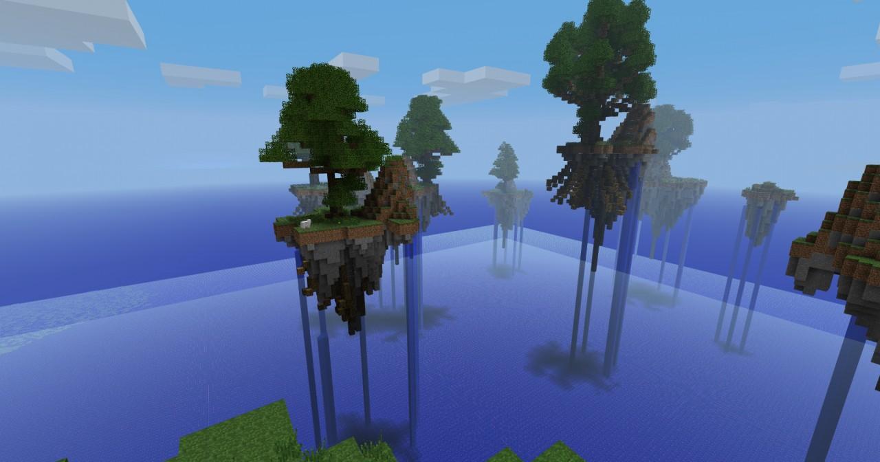 Minecraft Islands In Sky Map