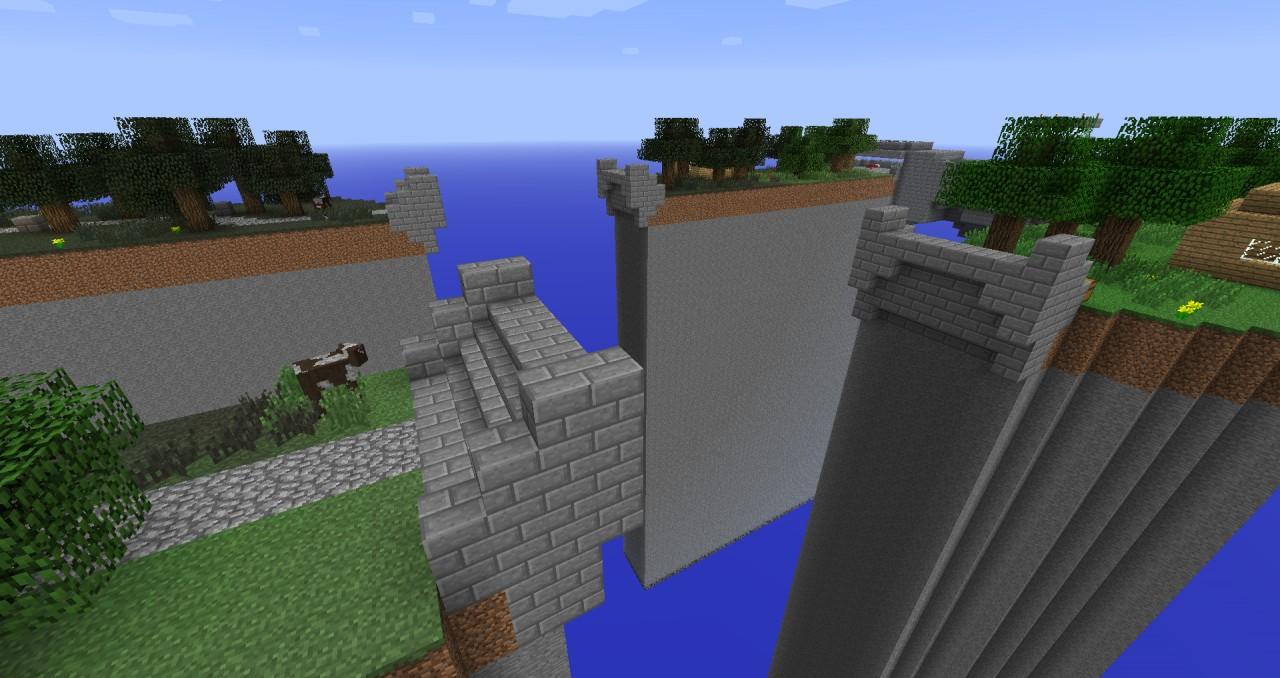 The broken bridge!