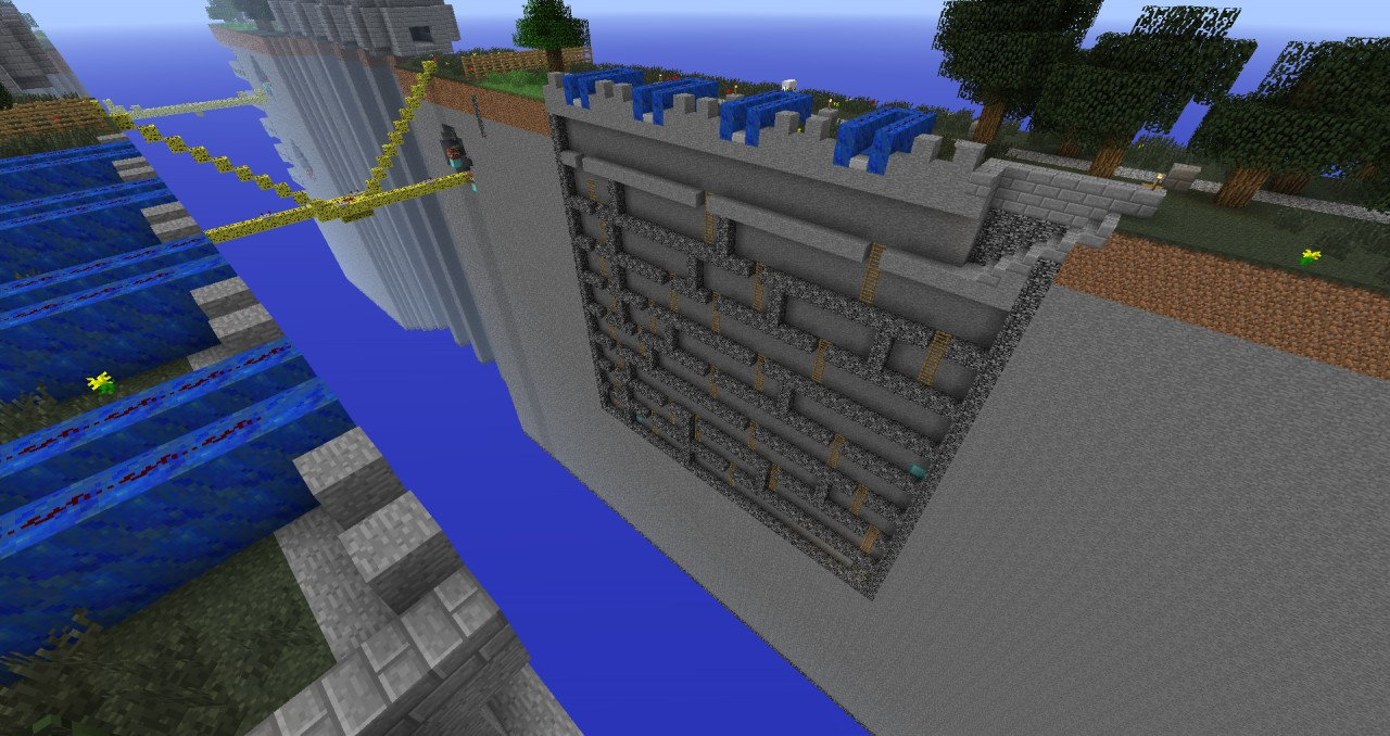 Challenge 1, with TNT cannons!