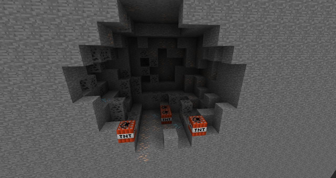 Pockets of ore to craft weapons and armor. Is it worth the risk?
