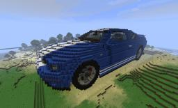Ford Mustang GT 500 2005 Edition Minecraft