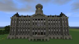 Royal Palace Amsterdam Minecraft