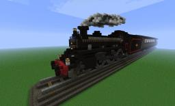 Steam Train Minecraft Map & Project