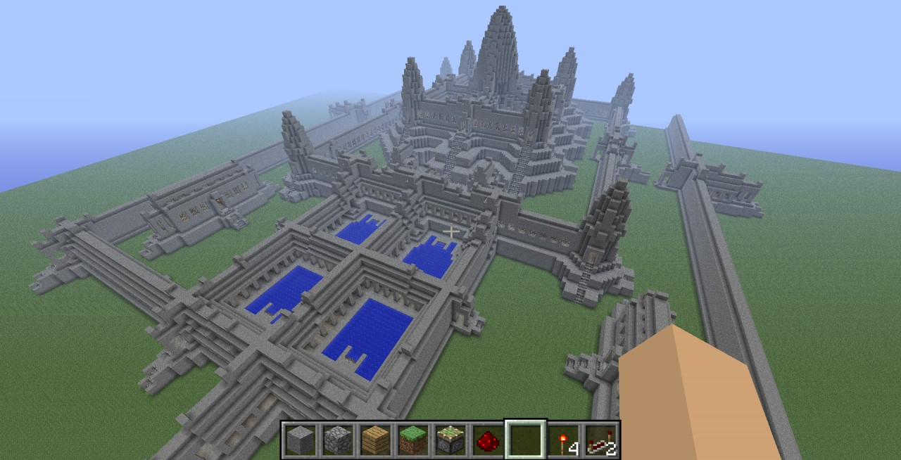 Angkor wat minecraft project