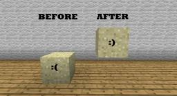 Floating Sand 1.1 Minecraft Mod