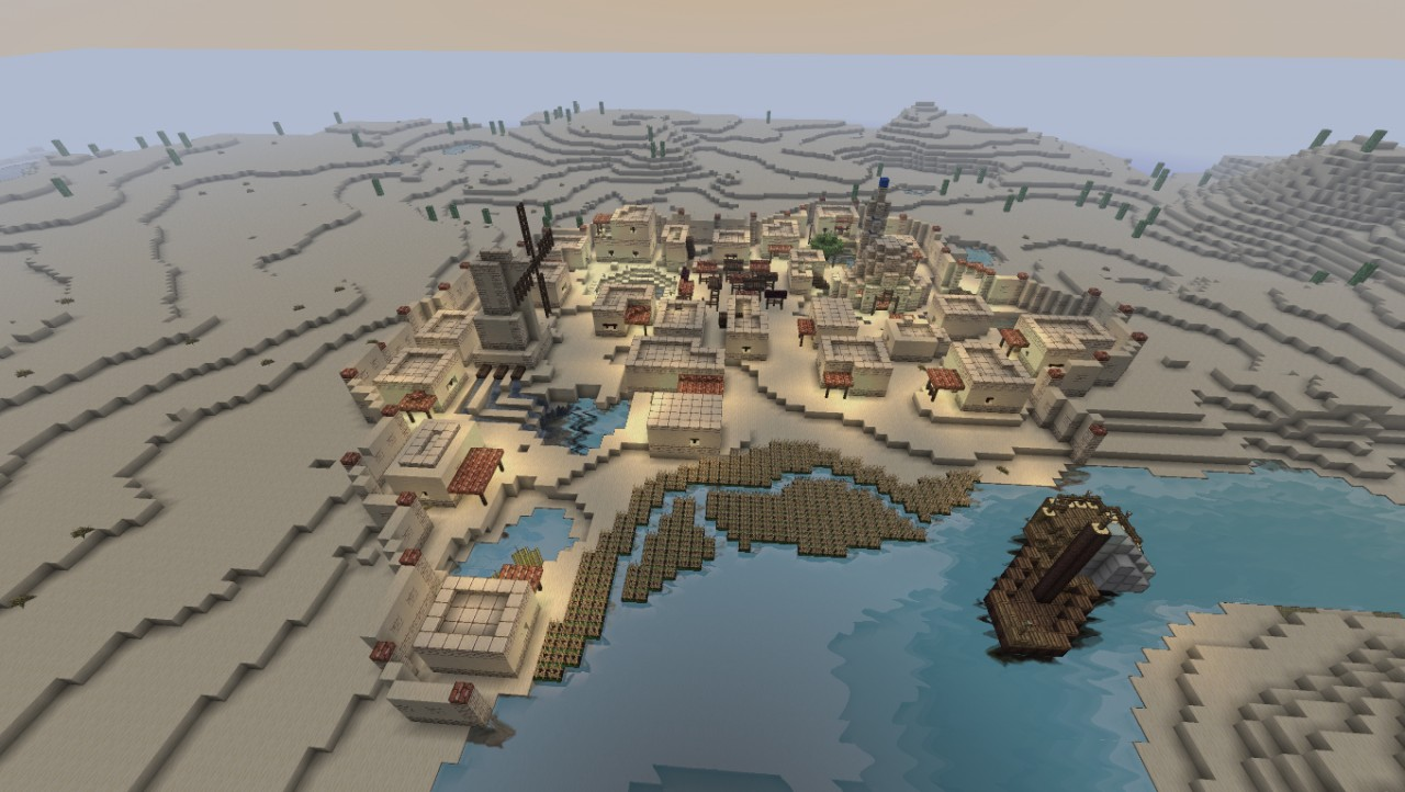 Desert Village W 252 Stendorf Minecraft Project