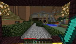Beautiful Minecraft Mansion/Village(Survival) Minecraft Map & Project