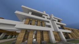 Modern House 1, Kaufmann Residence Minecraft Project