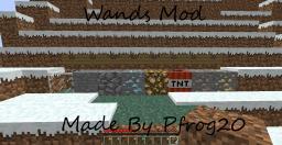Wands Mod (ModLoader) Minecraft Mod