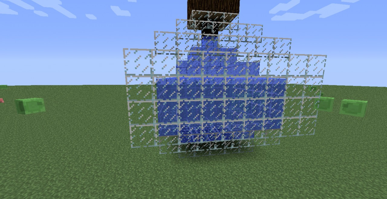 3d replica of glass bottle Minecraft Project