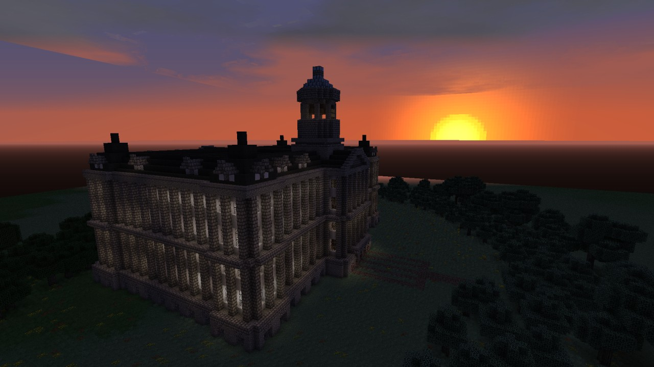 The Palace at Dawn