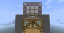 Fully Working, Two Player, Tic-Tac-Toe Game (Most Compact Design) Minecraft Map & Project