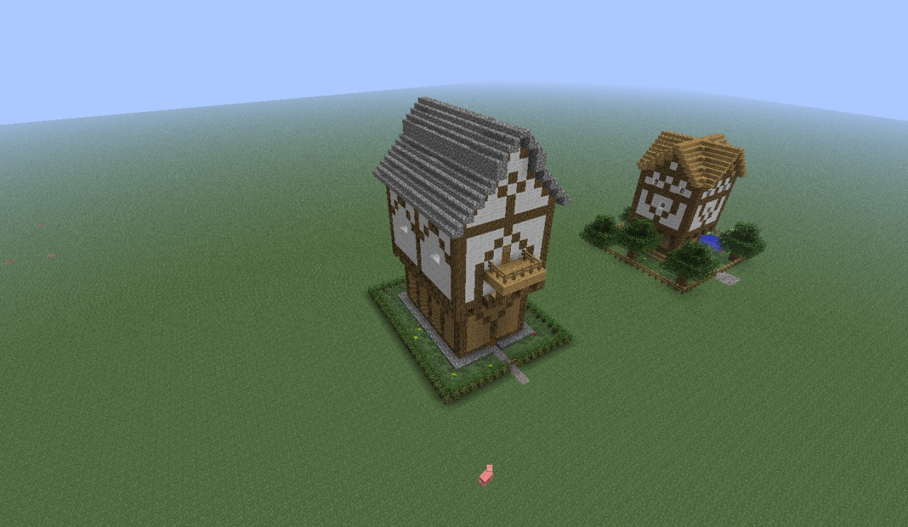 Fantasy Medieval Big House Minecraft Project