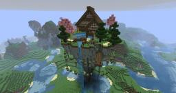 Mystical Zen House (Floating) Minecraft Map & Project