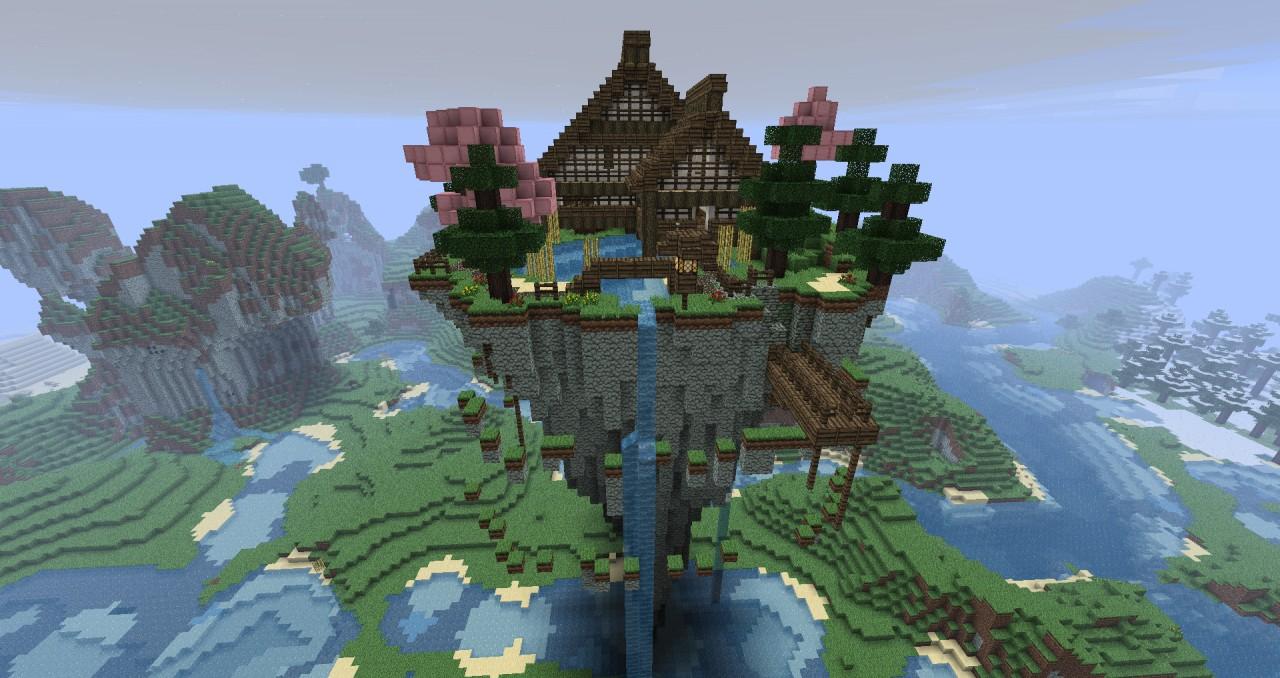 Old Japenese Buildings Minecraft