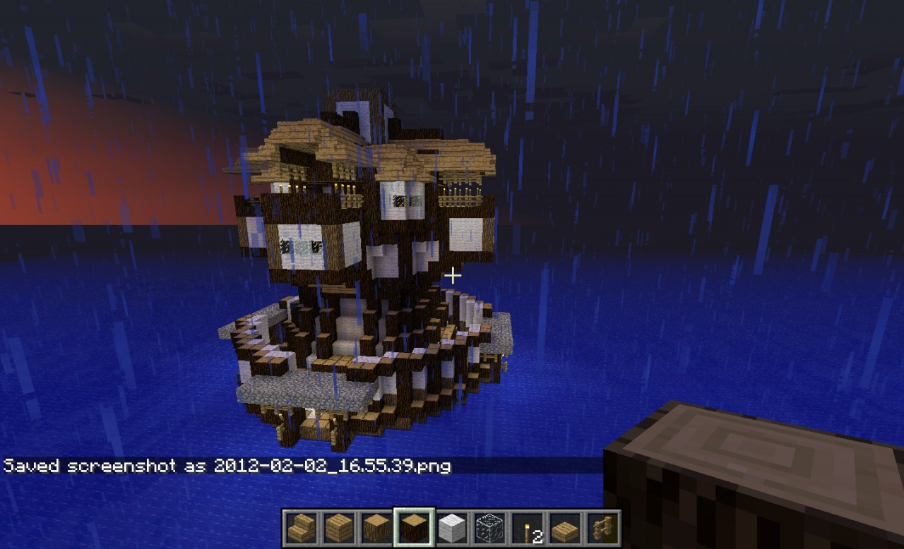Minecraft water fortress house minecraft project for Fortress house