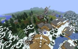 Riverwood inspired village Minecraft Map & Project