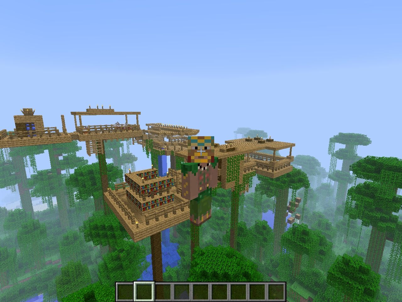 Jungle TreeHouse Minecraft Project