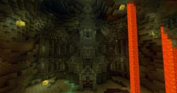 Underground Cathedral Minecraft Map & Project