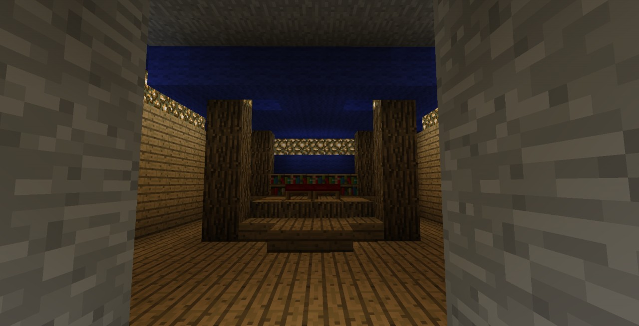 Master bedroom w lightswtich minecraft project for Bedroom ideas on minecraft