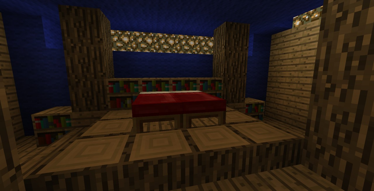 minecraft bedroom ideas master bedroom w lightswtich minecraft project 14197
