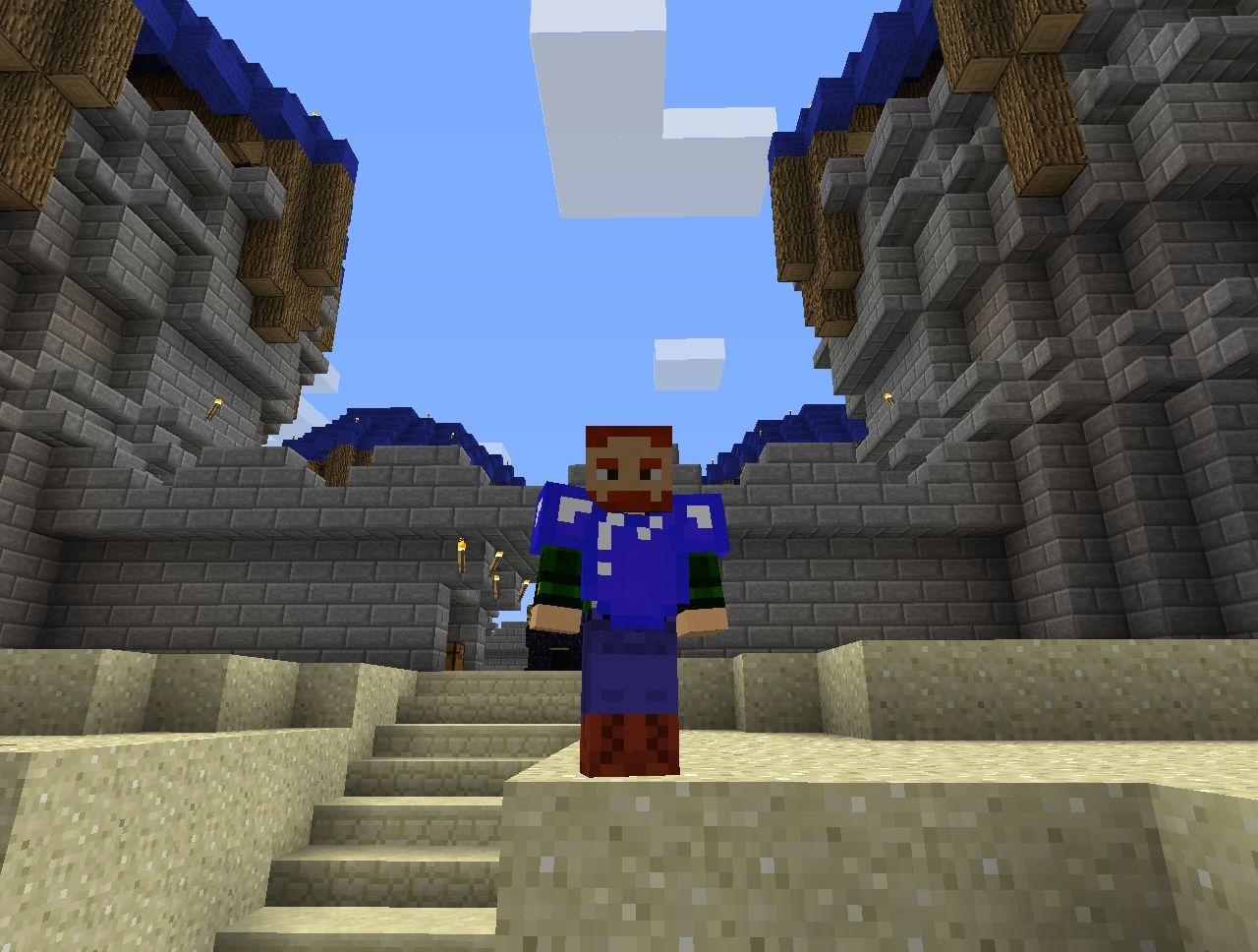 how to play capture the flag in minecraft pe