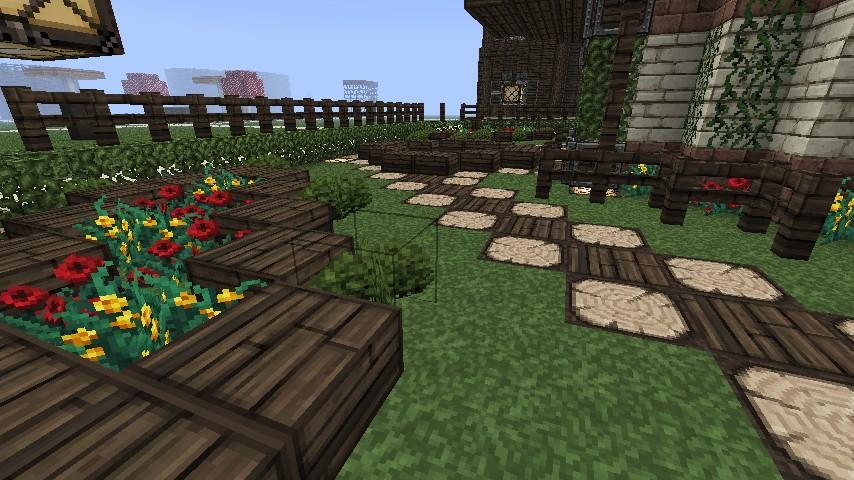 Garden pagoda minecraft project - Minecraft garden designs ...
