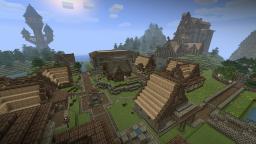 Village (Skyrim inspired) Minecraft Map & Project