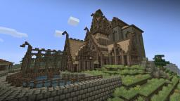 Skyrim : DragonsReach Minecraft Map & Project