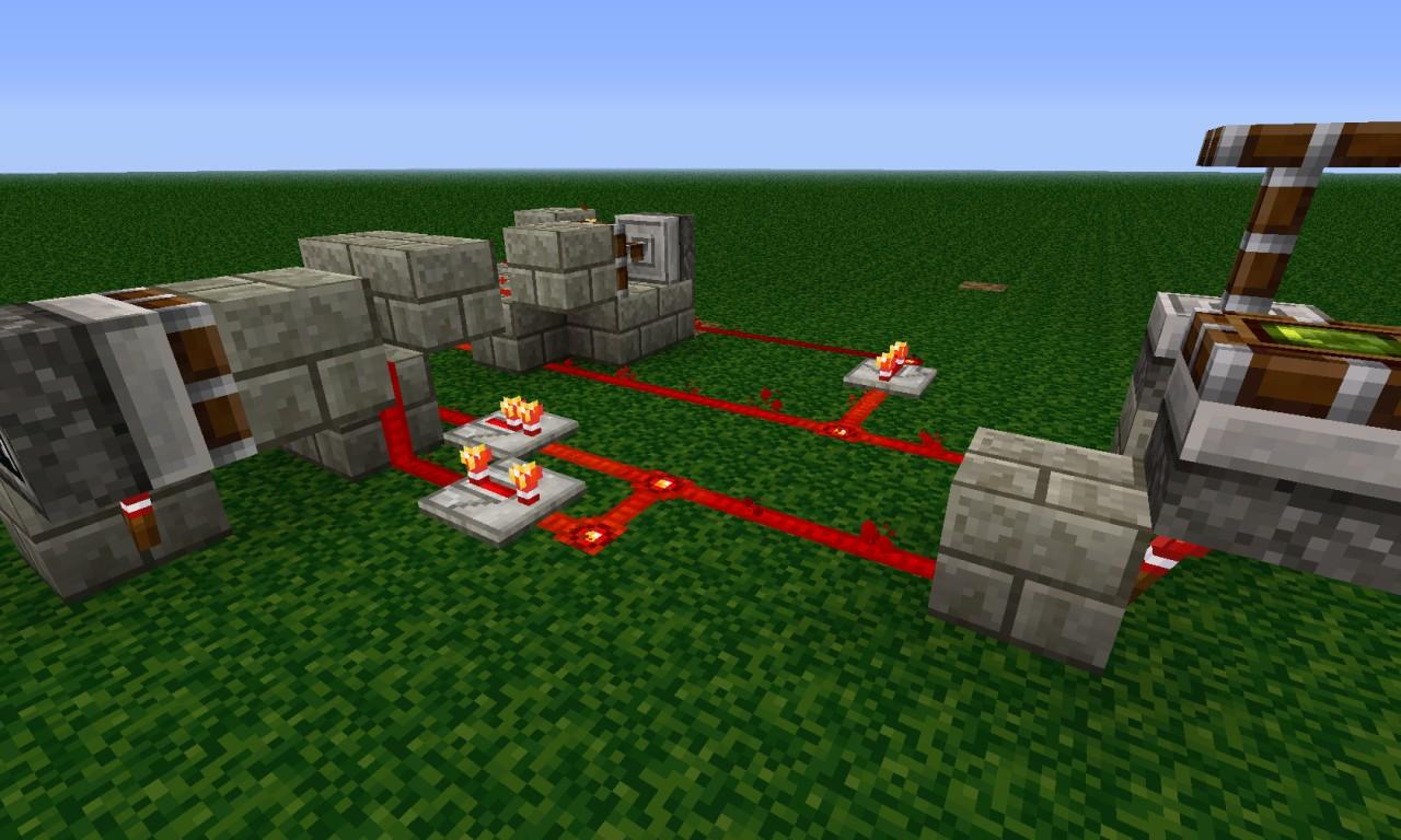 Minecraft redstone delay timer relay