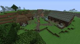 Medieval series: Miners camp Minecraft