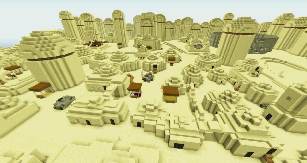 Mos Eisley Minecraft Project