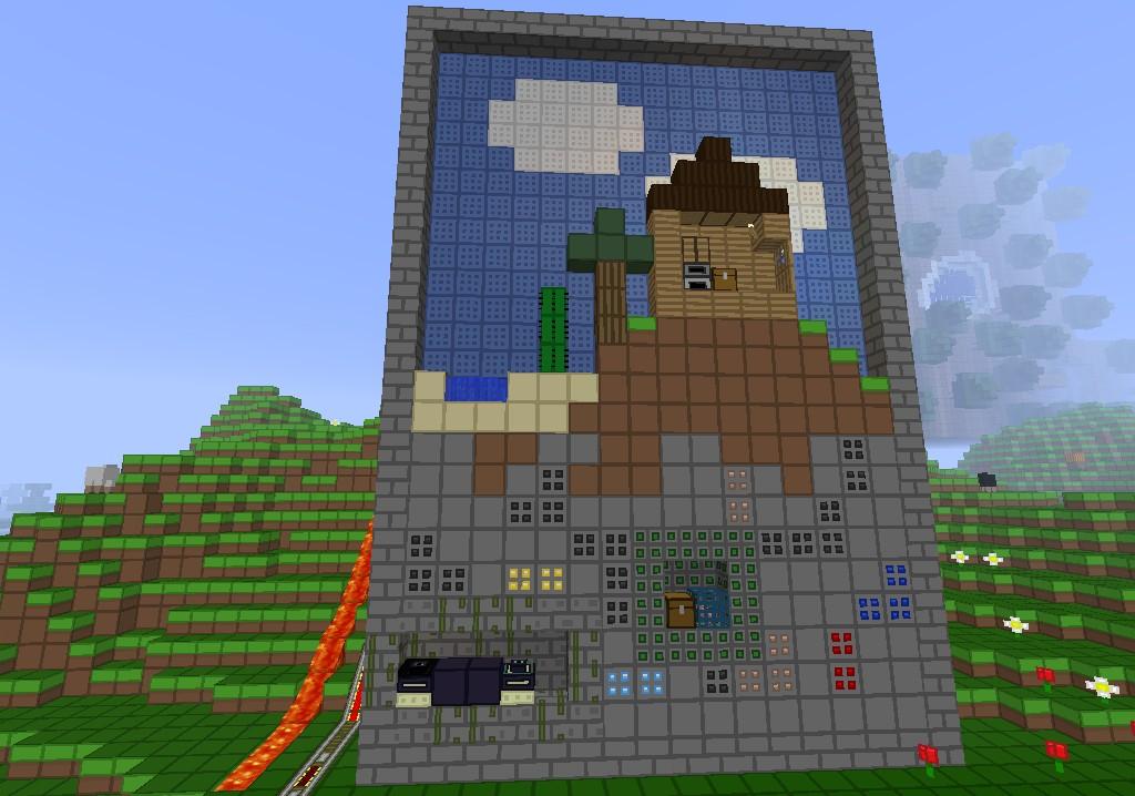 Paper Minecraft V Minecraft D On Scratch - Spielaffe minecraft