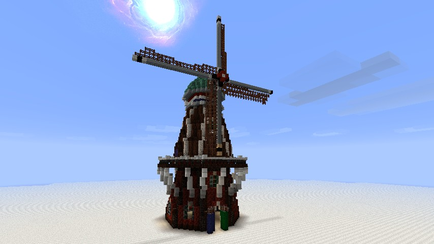 Dutch building pack - Windmill Minecraft Project
