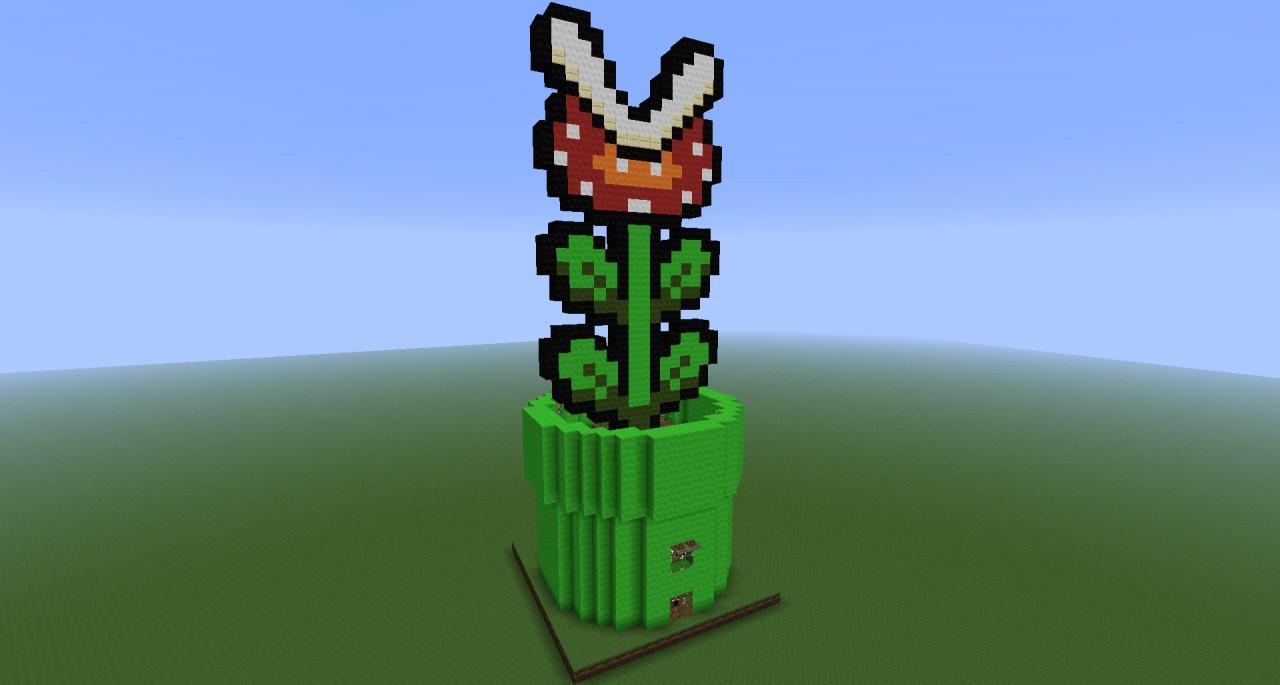 Piranha Plant House Minecraft Project
