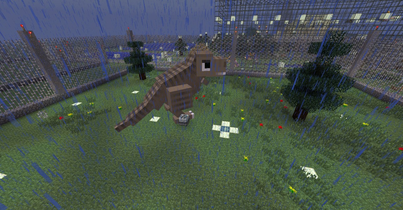 Minecraft Jurassic Craft    Download
