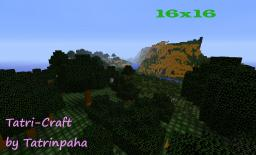 Tatri-craft [Remade Tools]**[Remaking Terrain]**[Work in Progress]**[My First Attempt] Minecraft Texture Pack