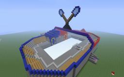Epic Spleef Arena w/Working Scoreboard Minecraft Map & Project