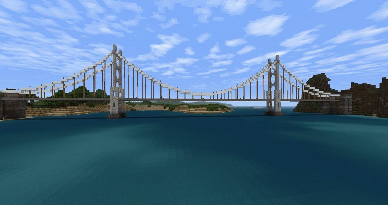 Suspension Bridge not based on a real bridge.