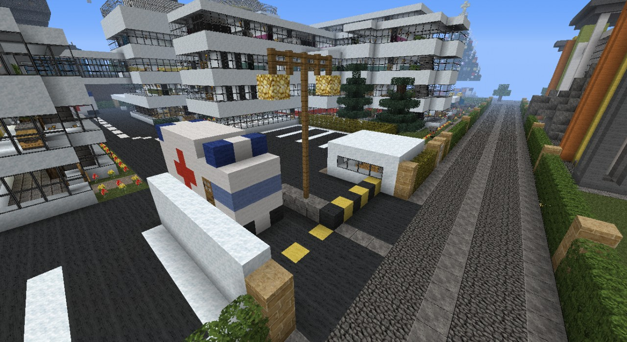 Miuchi Hospital Minecraft Project
