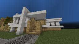Modern House 4, Reibling Residence Minecraft Map & Project